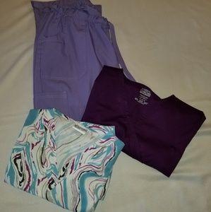 Uniform Advantage/Cherokee size XL medical scrubs